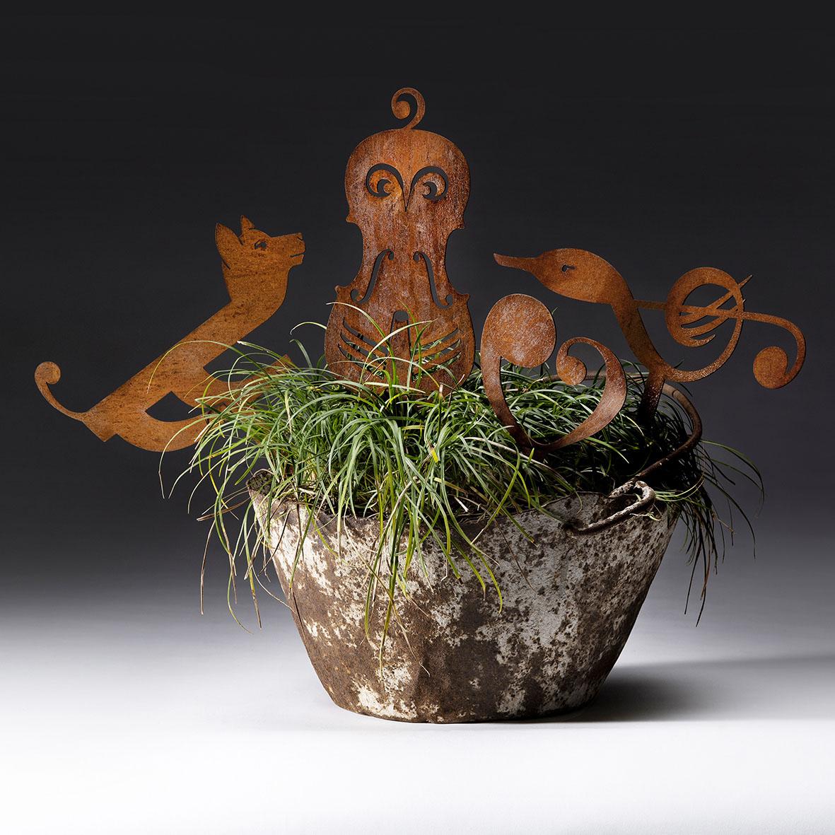 """Decorazioni per vaso Collezione """"Mozart"""""""